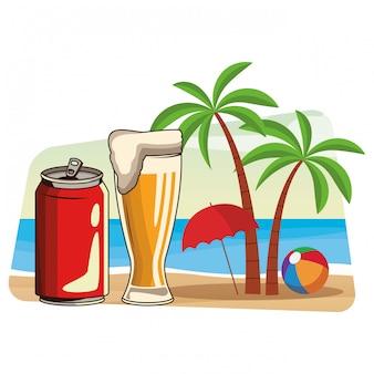 Desenhos animados de bebidas de bebidas alcoólicas