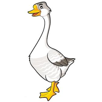 Desenhos animados de ganso