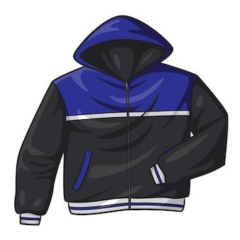 Desenhos animados de jaqueta