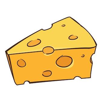 Desenhos animados de queijo