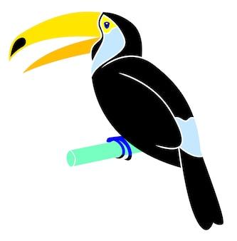 Desenhos animados de tucan ameson