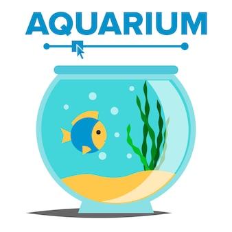 Desenhos animados do aquário