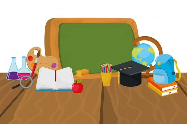 Desenhos animados do conselho escolar
