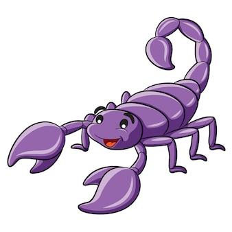 Desenhos animados do escorpião