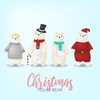 Desenhos animados ilustrações de natal