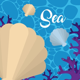 Desenhos animados marinhos