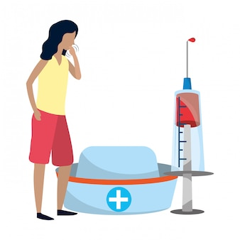Desenhos animados médicos de saúde