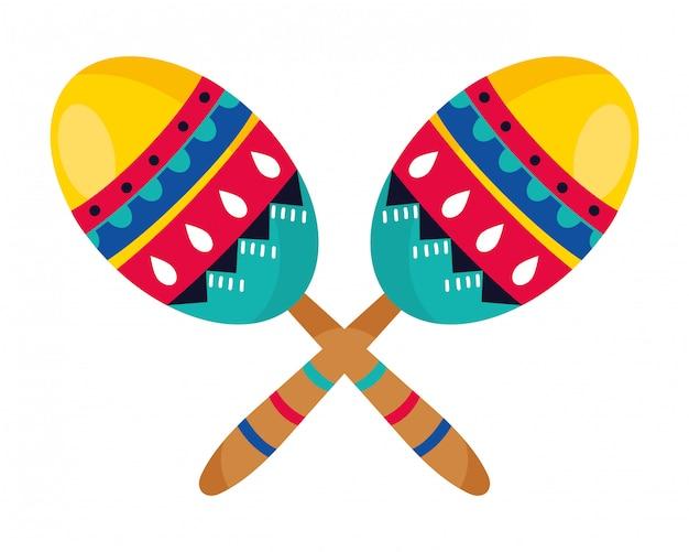 Desenhos animados mexicano da cultura mexicana