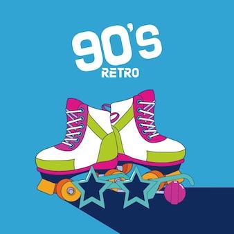 Desenhos animados retros dos anos 90