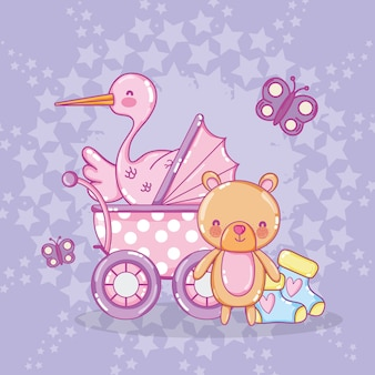 Desenhos de chuveiro de bebê