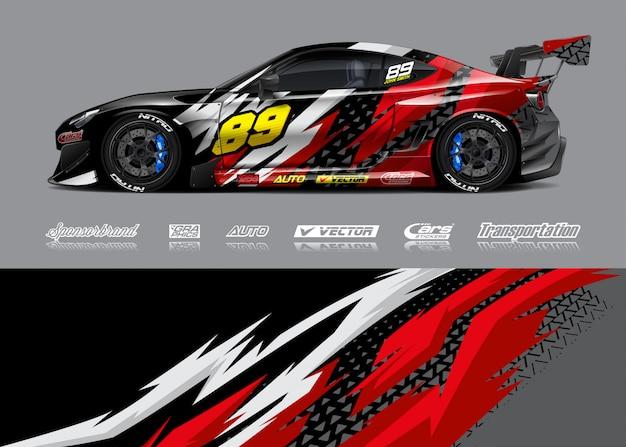 Desenhos de decalque de carro de corrida