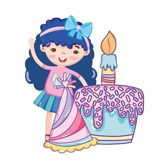Desenhos de feliz aniversário menina
