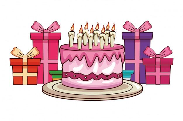 Desenhos de feliz aniversário