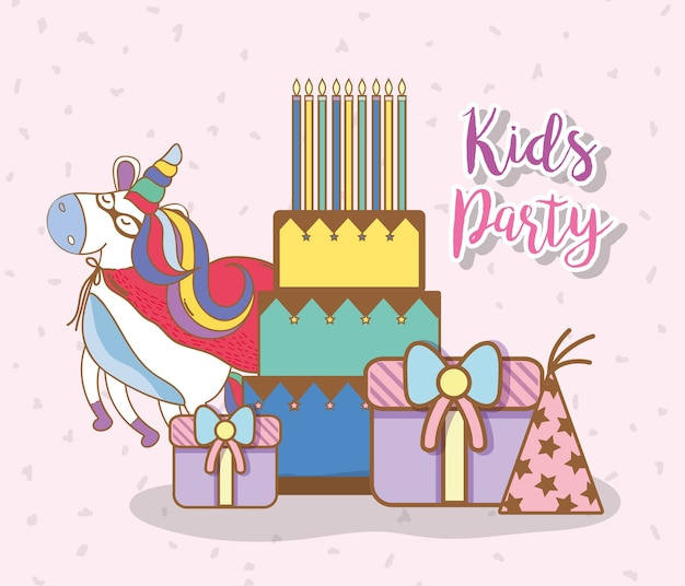 Desenhos de festa de crianças