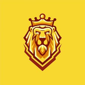 Desenhos de logotipo de leão