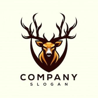 Desenhos de logotipo de veado