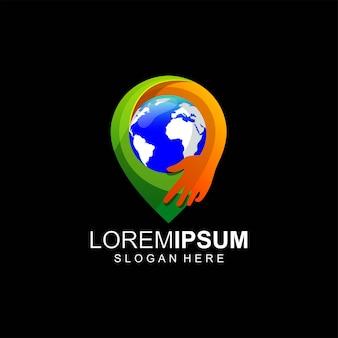 Desenhos de logotipos da terra