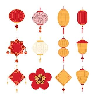 Desenhos de ornamentos chineses