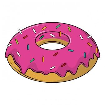 Desenhos de sobremesa de donut