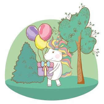 Desenhos de unicórnio feliz aniversário