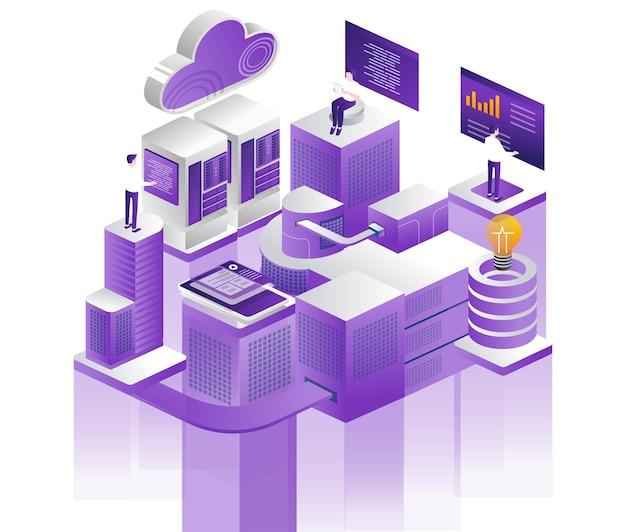 Desenvolvedor da web e analítica de servidor