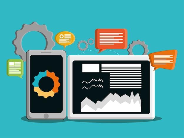 Desenvolvimento com design de gadgets