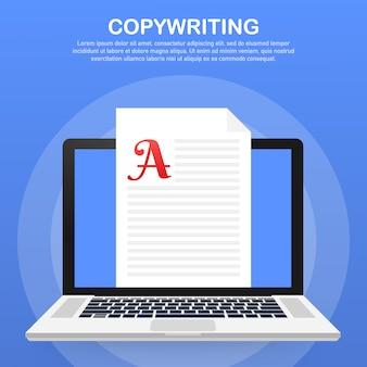 Desenvolvimento de conteúdo, freelancer, modelo de postagem de blog