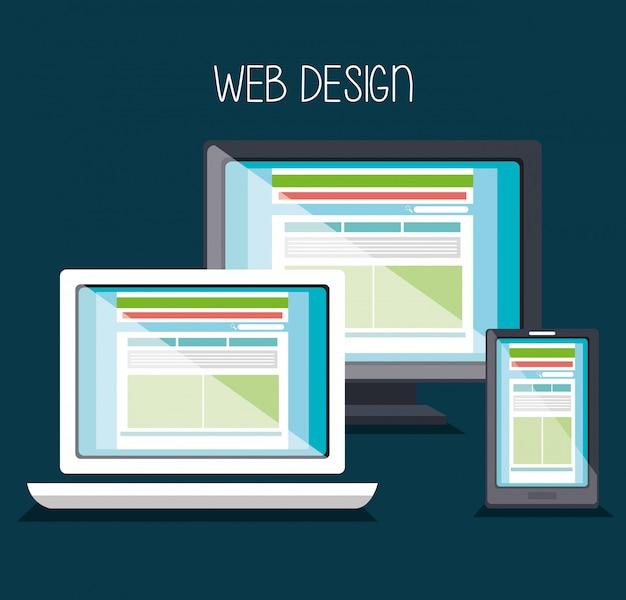Desenvolvimento de web design