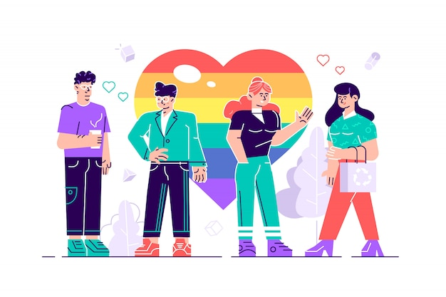 Desfile do amor
