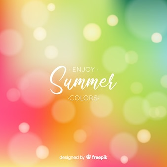 Desfrute de fundo de verão