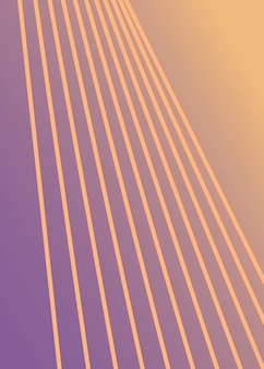 Design abstrato minimalista