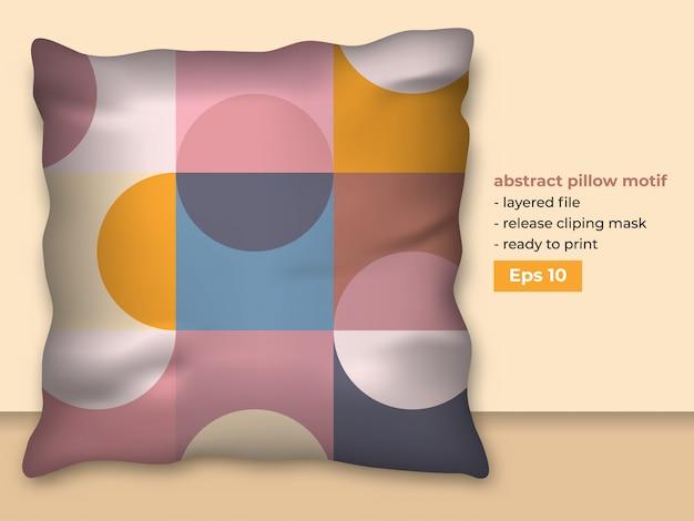 Design abstrato moderno para produção de impressão de almofadas