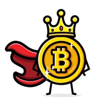 Design bitcoin como rei