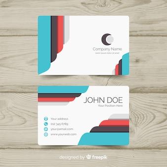 Design bonito cartão de visita