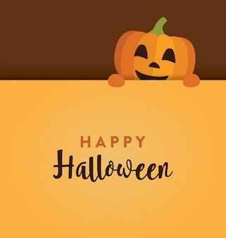 Design bonito de halloween