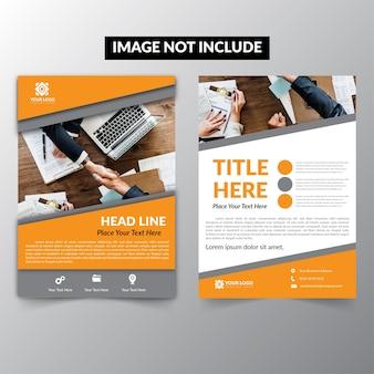 Design brochure company leafleat