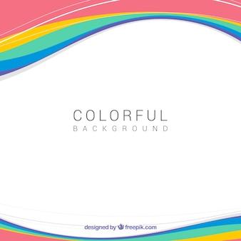 Design colorido do backgorund