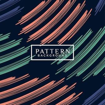 Design colorido moderno padrão de fundo