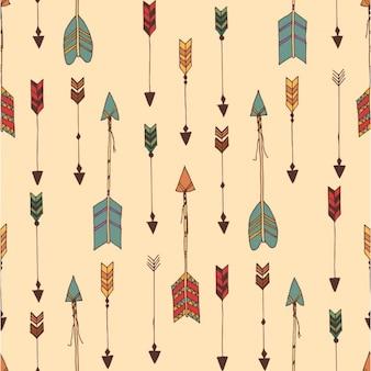 Design colorido teste padrão indiano