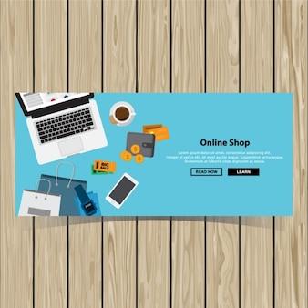 Design compra banner online