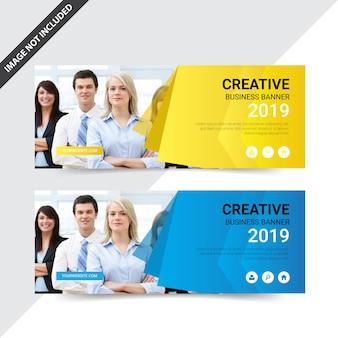 Design criativo banner web