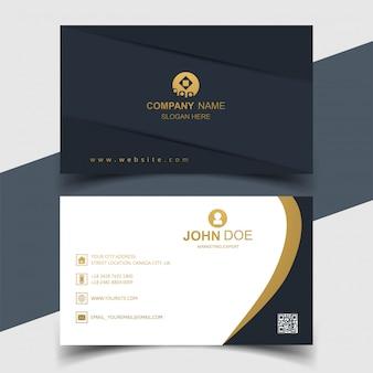 Design criativo de cartão elegante
