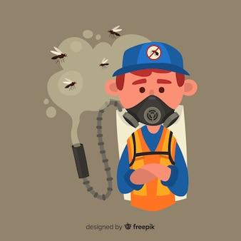 Design criativo de controle de mosquitos
