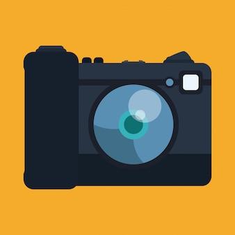 Design da câmera.
