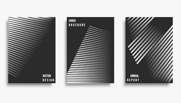 Design da capa abstrata