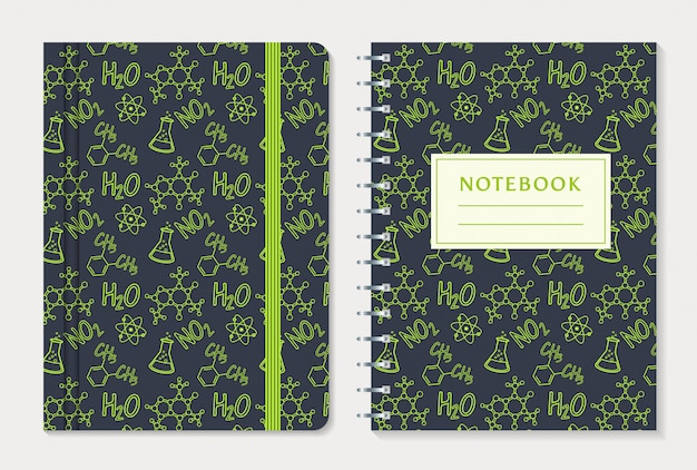Design da capa do notebook