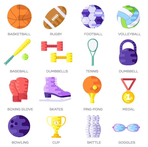 Design da capa tipográfica de estilo de vida esportivo
