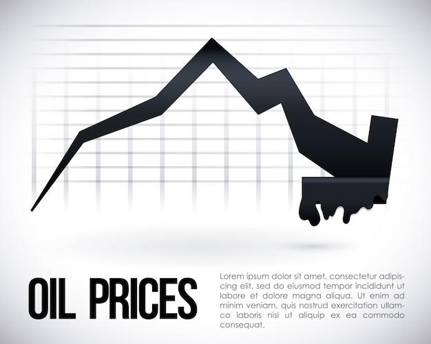 Design da indústria de petróleo.