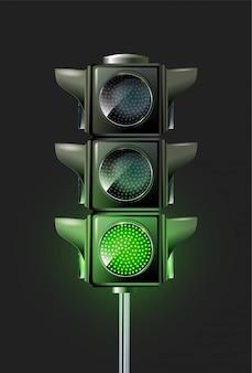 Design da lâmpada de tráfego