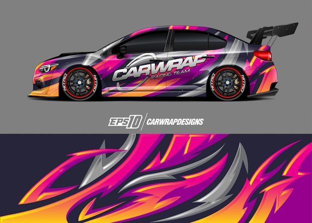 Design de adesivos de carro
